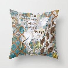 Nature Spirit Throw Pillow