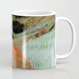 Poppy Field in a Hollow near Giverny by Claude Monet Coffee Mug