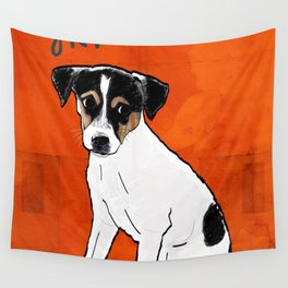 Dog: Rat Terrier Wall Tapestry