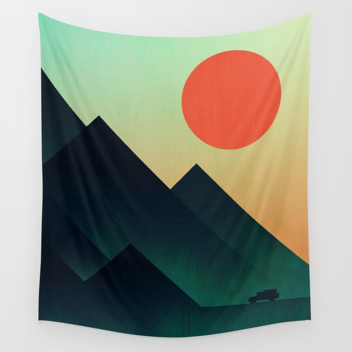 World to see Wall Tapestry