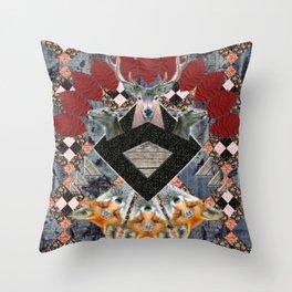 ▲ NAWKAW ▲ Throw Pillow