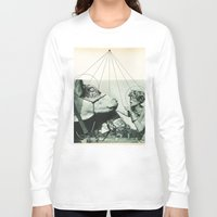 hologram Long Sleeve T-shirts featuring Exhibit A by Natalie Bessell