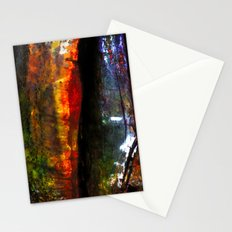 The red tree Stationery Cards