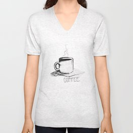 gimme coffee Unisex V-Neck