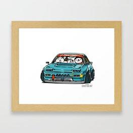 Crazy Car Art 0156 Framed Art Print