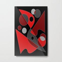 Abstract #311 Metal Print