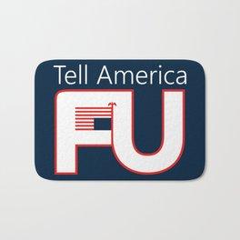 Tell America FU Bath Mat