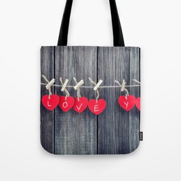 Romantic valentine Tote Bag