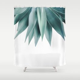 Agave fringe Shower Curtain