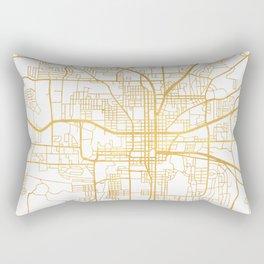 TALLAHASSEE FLORIDA CITY STREET MAP ART Rectangular Pillow