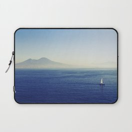 Naples sea at morning Laptop Sleeve