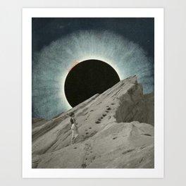 Diosa Luna Moon Art Poster