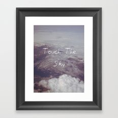 Touch the Sky Framed Art Print