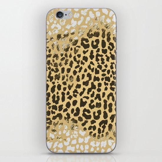 Golden Leopard iPhone Skin