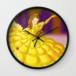 Dancing Beauty Wall Clock
