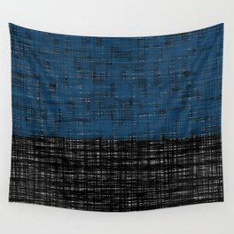 platno (blue) Wall Tapestry