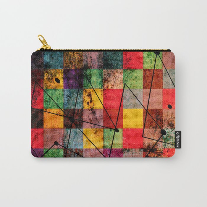 shapes Carry-All Pouch