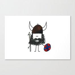 Norsk Viking Canvas Print