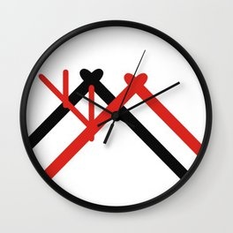 Norge hytte Wall Clock