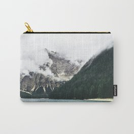 Smokey Foggy Scenery Mountain View Carry-All Pouch