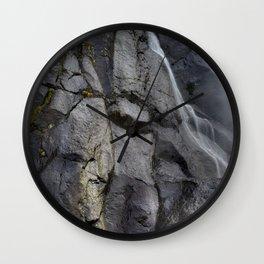 Aber Waterfall mimetolith Wall Clock