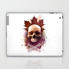 Skull and Leaf Laptop & iPad Skin