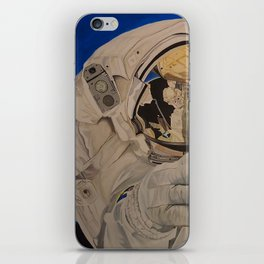 Astronaut in space, man. iPhone Skin
