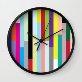 Stripes Squared Wall Clock