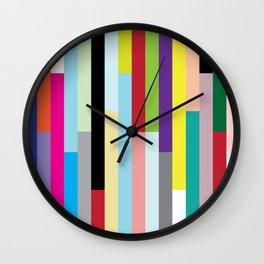 Stripes Squared Wall Clock