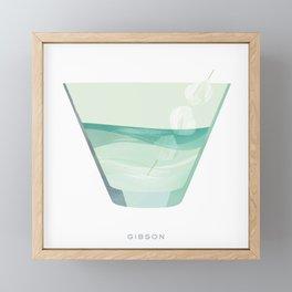 Cocktail Hour: Gibson Framed Mini Art Print