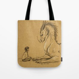 Strength of a Dragon Tote Bag