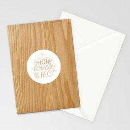 Lovely Lyric Stationery Cards