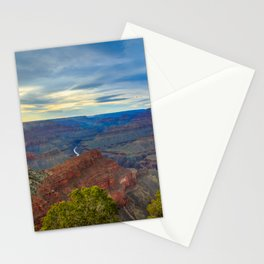 Grand Canyon Sunset from Hopi Point Stationery Cards