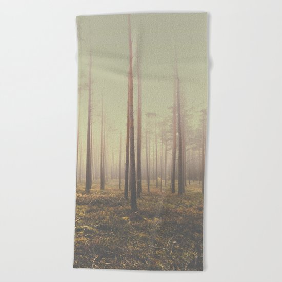 The day we lost Beach Towel