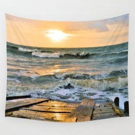 King Tide 2 Wall Tapestry