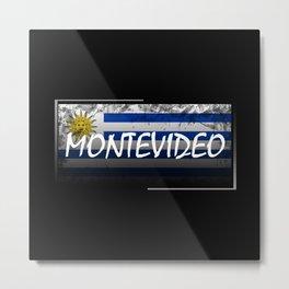 Montevideo Metal Print