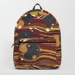 Old Marbled Paper 01 Backpack