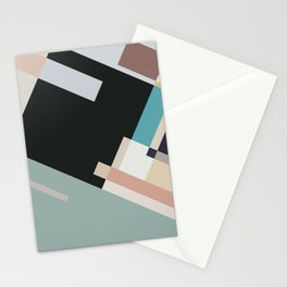 Color and Composition Study Stationery Cards