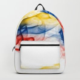 bandera de colombia Backpack