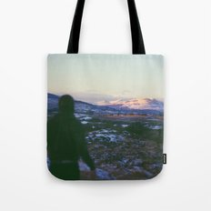 Looking Out To Snowdon Tote Bag