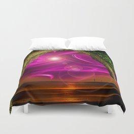 Sunset -Sunrice Duvet Cover