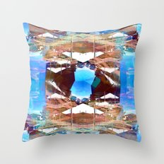 There's no wait that fails to contemplate caveats. Throw Pillow