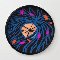 pocahontas Wall Clocks featuring Pocahontas by Glopesfirestar