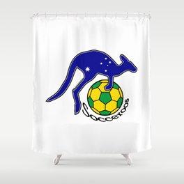 Australia Socceroos ~Group C~ Shower Curtain