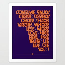 "The ""&"" Poster Art Print"