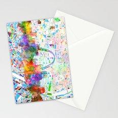st louis city skyline map Stationery Cards