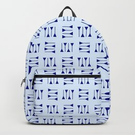 cuneiform 2 blue Backpack