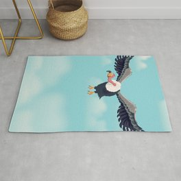 Friendly Vulture Rug