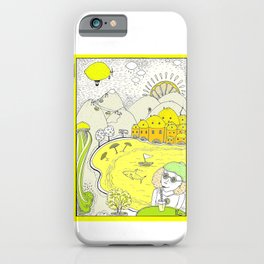 Lemon paradise iPhone Case