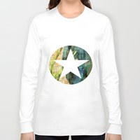 tulip Long Sleeve T-shirts featuring Tulip by Aloke Design